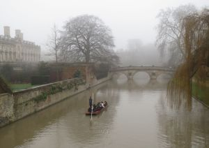 River Cam towards Clare Bridge