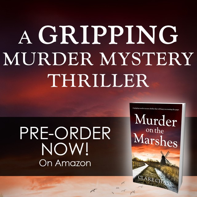 Murder on the Marshes preorder graphic