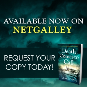death comes to call - netgalley graphic