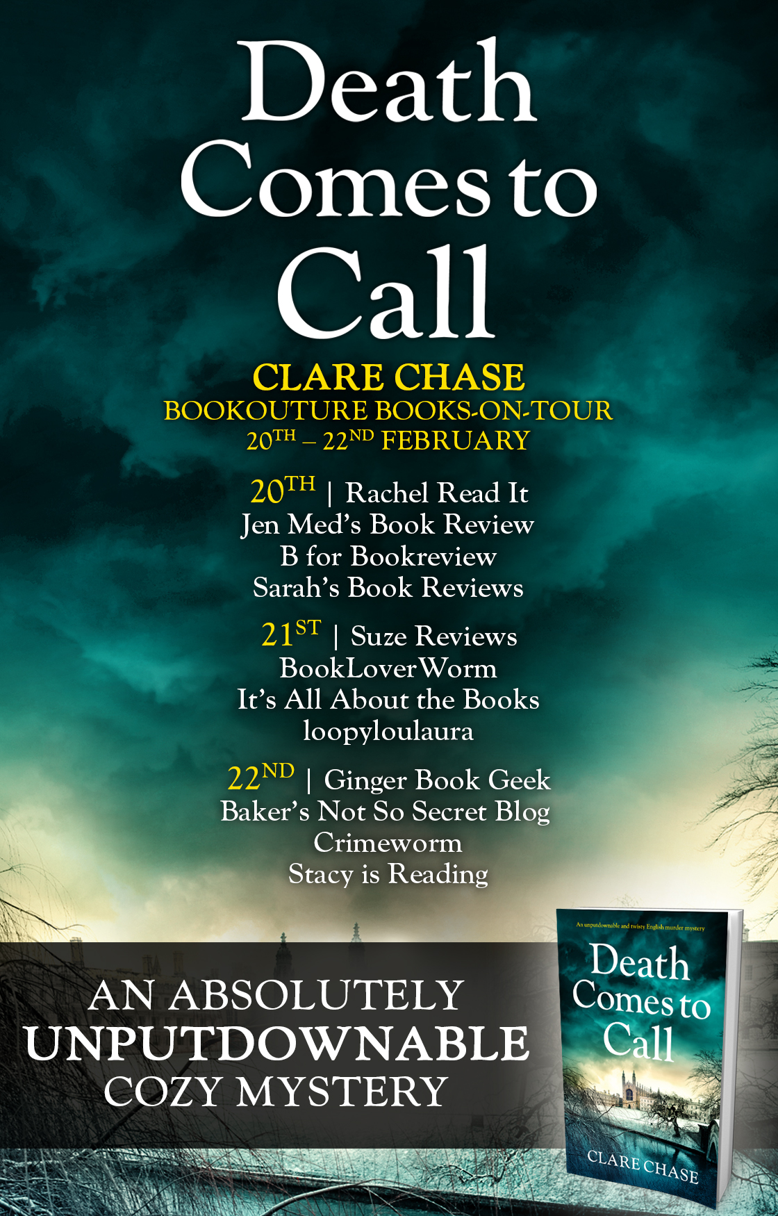 Death Comes to Call - Blog Tour